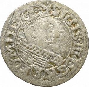 Zygmunt III Waza, 3 krucierze 1618 - rzadkość
