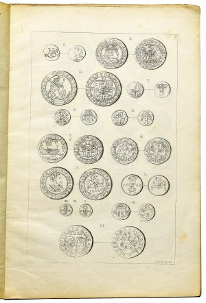 Karol Beyer, Oryginalne tablice do skorowidza monet polskich