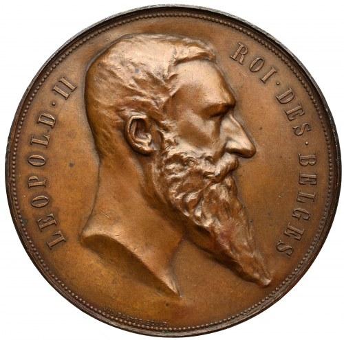 Belgia, Leopold II, Medal światowej wystawy 1894 w Antwerpii