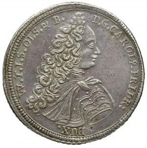 Śląsk, ks. Oleśnickie, Talar 1716 Oleśnica
