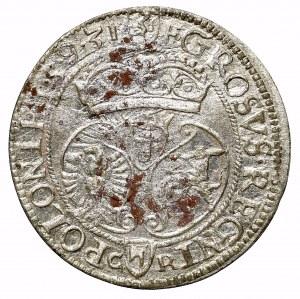Zygmunt III Waza, Grosz 1593 Olkusz