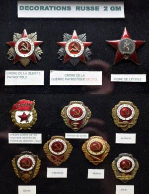 ZSRR, Zestaw odznak i odznaczeń