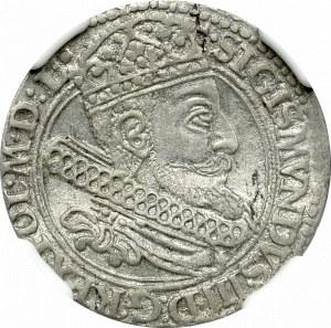 Zygmunt III Waza, Grosz 1604 Kraków - NGC AU58