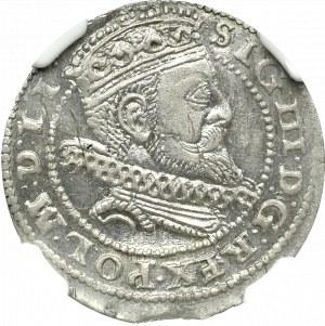 Zygmunt III Waza, Grosz 1605 Kraków - NGC MS63