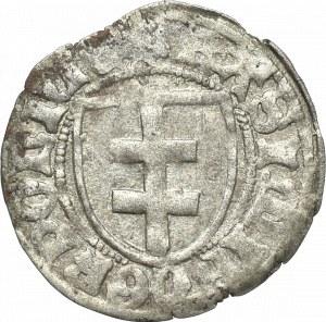 Kazimierz IV Jagiellończyk, Szeląg bez daty Toruń - POLNIE