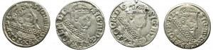 Zygmunt III Waza, zestaw trojaków