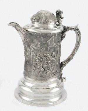 Joseph ANGELL II (firma od 1811-1884), Kufel z nakrywą