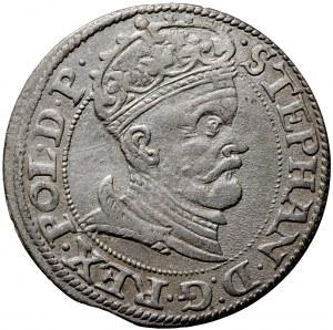 Stefan Batory, grosz 1578, Gdańsk, (R2)