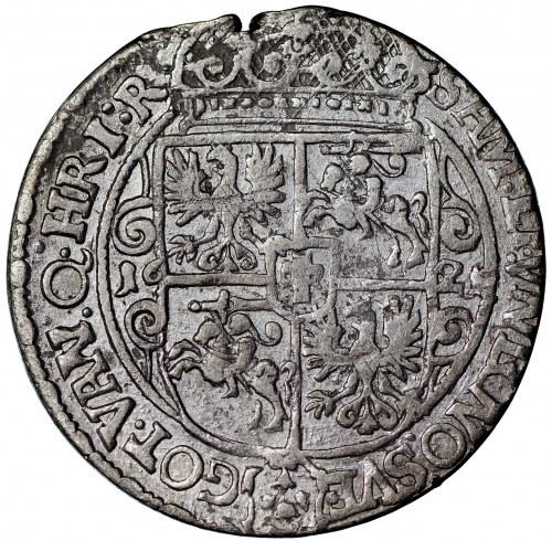 Zygmunt III Waza, ort 1621, Bydgoszcz, (16) pod popiersiem, NECNO SVE (R4)