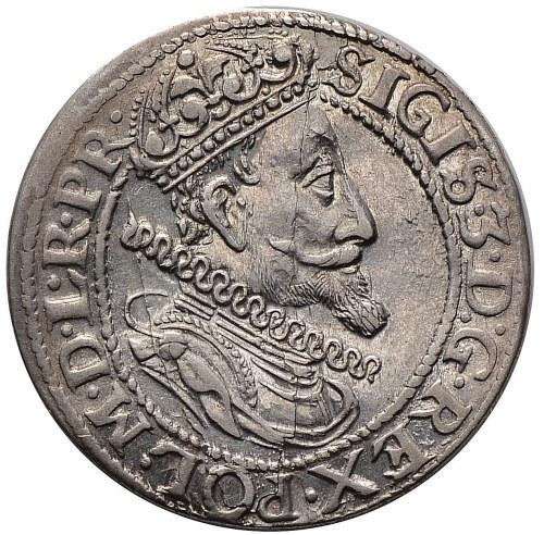Zygmunt III Waza, ort 1615, Gdańsk, starsze popiersie