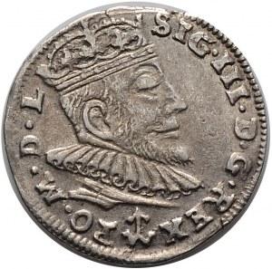 Zygmunt III Waza, trojak 1590, Wilno (R1)