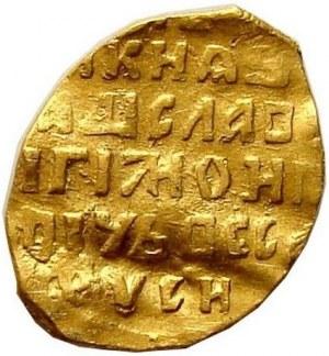 Władysław IV, kopiejka 1610-1612, Moskwa, złoto