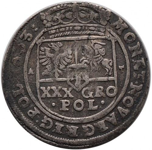 Jan II Kazimierz, tymf 1663, Bydgoszcz, z błędem SALVSS (R2)