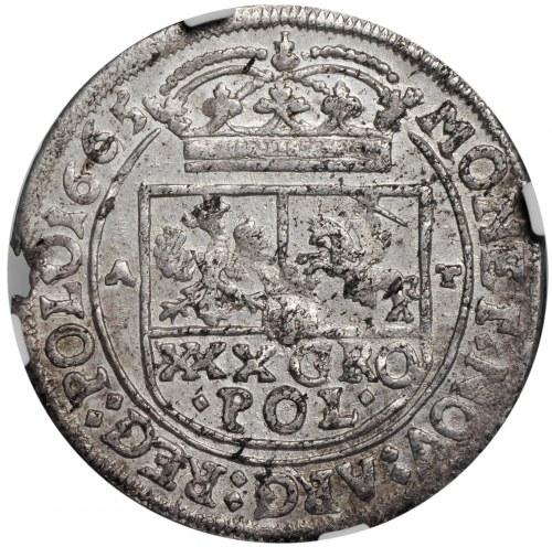 Jan II Kazimierz, tymf 1665, Kraków