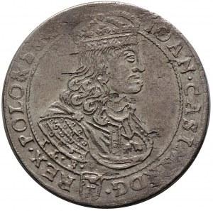 Jan II Kazimierz, ort 1668, Kraków