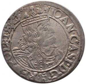Jan II Kazimierz, szóstak 1661 GBA, Lwów