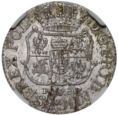August III, 1/24 talara 1755 FWoF, Drezno