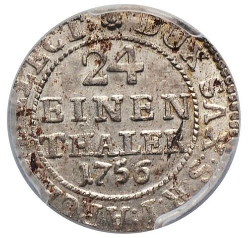 August III, 1/24 talara 1756 FWoF, Drezno
