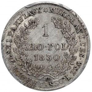 Królestwo Kongresowe, Mikołaj I, 1 złoty 1830 FH, Warszawa