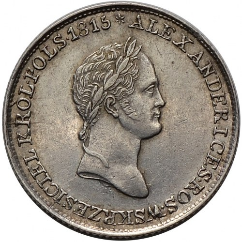 Królestwo Kongresowe, Mikołaj I, 1 złoty 1832 FH, Warszawa