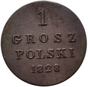 Królestwo Kongresowe, Mikołaj I, 1 grosz 1828 FH, Warszawa