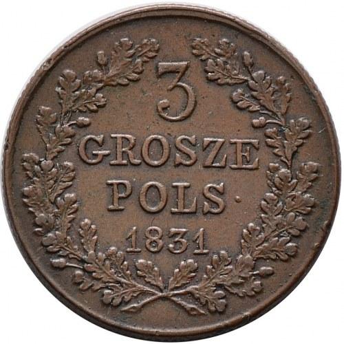 Powstanie Listopadowe, 3 grosze 1831
