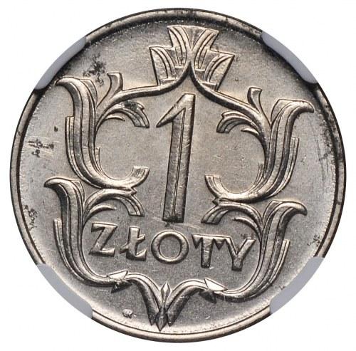 II Rzeczpospolita, 1 złoty 1929