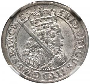 Prusy Książęce, Fryderyk III, ort 1698, Królewiec