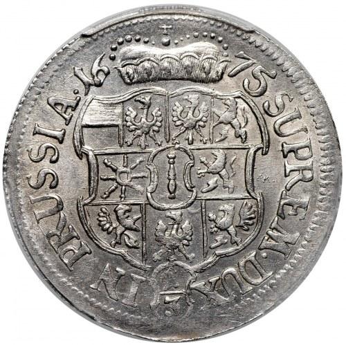 Prusy Książęce, Fryderyk Wilhelm, 1/3 talara 1675 HS, Królewiec
