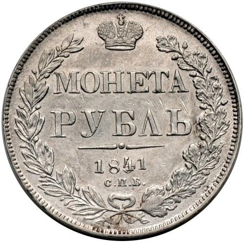 Mikołaj I, rubel 1841 СПБ НГ, Petersburg