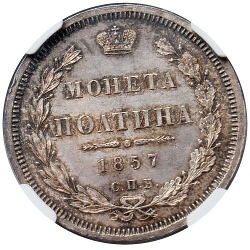Aleksander II, połtina 1857 СПБ ФБ, Petersburg