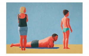 Matylda Polak, Rodzina na plaży