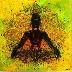Anna Kushch (Ur. 1988), Acid Shiva, 2018