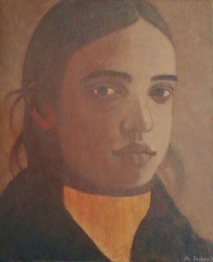 Maria Prokop (Ur. 1979), Portret dziewczyny, 2018