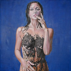 Ilona Foryś (Ur. 1980), Blue, 2018