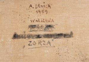 Alfred Lenica (1899 Pabianice - 1977 Warszawa) - Zorza, 1959