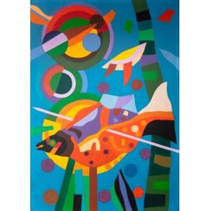 Kazimierz Ostrowski (1917 Berlin-1999 Gdynia) - Kompozycja, 1972
