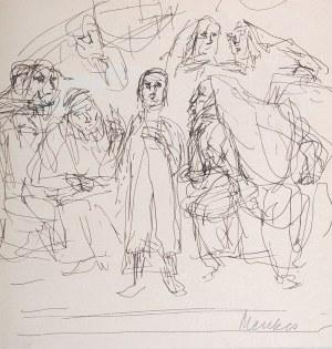 Zygmunt Menkes (1896 Lwów - 1986 Riverdale) - Bar micwa