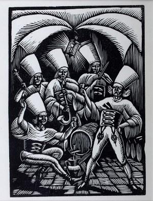 Władysław Skoczylas (1883 Wieliczka – 1934 Warszawa) - W murowanej piwnicy