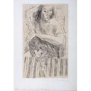 Andrzej Jurkiewicz (1907-1967) - Portret kobiety