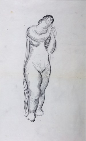 Zbigniew Pronaszko (1885 Debreczyn - 1958 Kraków) - Akt