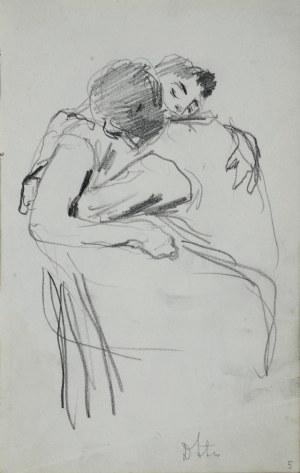 Stanisław Kaczor Batowski (1866-1945), Para w uścisku miłosnym