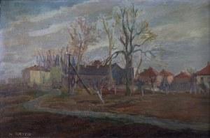Henryk Krych (1905 – 1980), Motyw z małego miasta