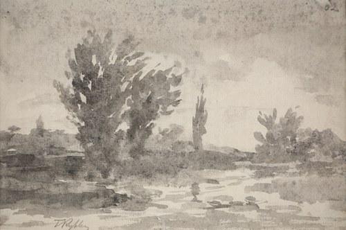Tadeusz Rybkowski (1848-1926), Pejzaż