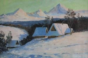 Leszek Stańko (1924-2011), Zima w górach, ok. 1996