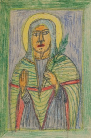 Nikifor KRYNICKI (1895-1968), Święta