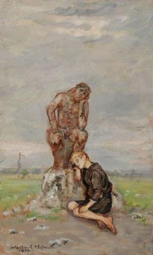 Wlastimil HOFMAN (1881-1970), U Chrystusa, 1920