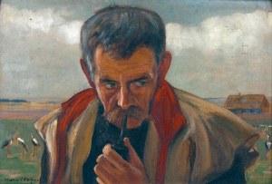 Wlastimil HOFMAN (1881-1970), Przed odlotem