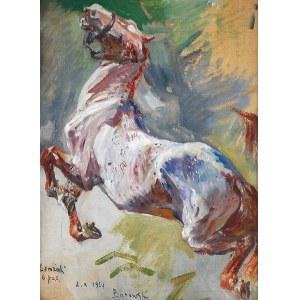 Stanisław KACZOR-BATOWSKI (1866-1946), Łemzak - studium konia, 1924