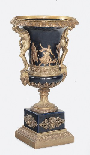 Dekoracyjna waza - amfora, w stylu II Cesarstwa